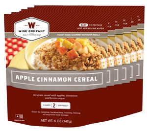 WISE 05908 APPLE CINN CEREAL  6CT 2SER