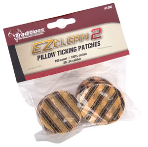 Traditions A1286 EZ Clean 2 Pillow Ticking Patches .45-.54 100% Cotton 100 Pack