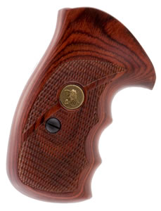 Pachmayr 63040 Renegade Boot Grip S&W J Frame Round Butt Laminated Rosewood