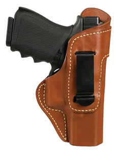 Blackhawk 421401BNR Inside The Pants Clip Holster 1911 Government Model Leather Brown