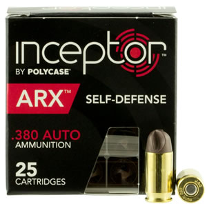 PolyCase Ammo  Inceptor ARX Dealer Master Pack Product Case of 5