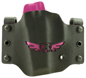SCCY Industries SC1003LH SCCY CPX Pistols Kydex Black w/Pink Wing Logo