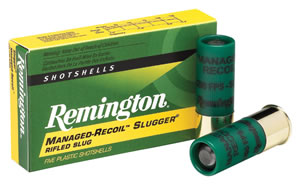 "Remington Ammunition RL12RS Slugger 12 Gauge 2.75"" 1 oz Slug Shot 5 Bx/ 20 Cs"