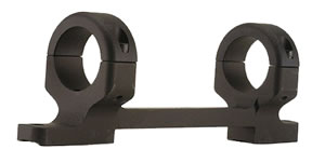 "DNZ 64700 1-Pc Base & Ring Combo For Remington Model 7 1"" Style Matte Finish"