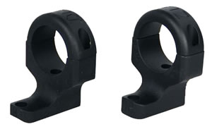 DNZ 703TH2 2-Piece Base/Rings For Howa Blk Finish