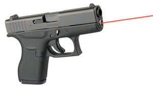 LaserMax LMSG42 LMS Glock 42 Red Laser Guide Rod