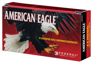 Federal AE65CRD1 American Eagle 6.5 Creedmoor 140 GR Open Tip Match 20 Bx/ 10 Cs