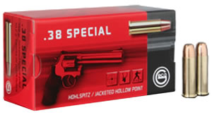 GECO 271740050 38 Special Hollow Point 158GR 50Box/20Case