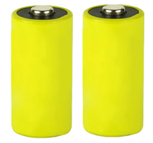 Aim Sports CR123A Lithium Batteries 3V 2 Pack
