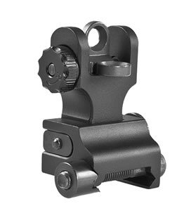 Samson FRS-A2 Quick Flip A2 Rear Rail Mount AR-15 Aluminum Black