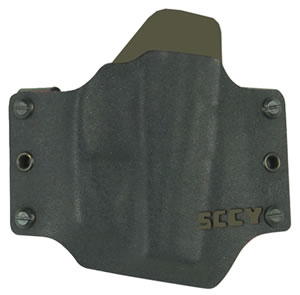 SCCY SC1008 CPX Holster CPX-1/CPX-2 Kydex Black w/FDE Small Logo