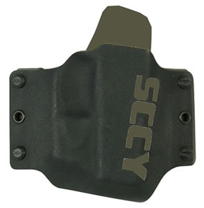 SCCY SC1012 CPX Holster CPX-1/CPX-2 Kydex Black w/ FDE Vertical Logo