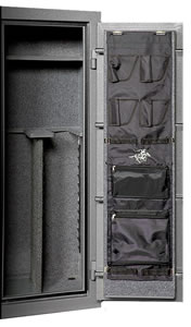 Winchester Door Organizer DP048012, 48x12, Black