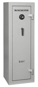 Winchester Bandit 9 Gun Safe B5618F1910E, Elec Lock, Gray Finish, Free Shipping w/Curbside Delivery, 7-10 Day Lead time