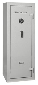 Winchester Bandit 14 Gun Safe B6022F11410E, Elec Lock, Gray Finish, Free Shipping w/Curbside Delivery, 7-10 Day Lead time