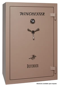 Winchester Defender 35 Gun Safe D60403513E, Elec Lock, Desert Tan Finish, Free Shipping w/Curbside Delivery, 7-10 Day Lead time