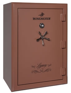 Winchester Legacy 44 Gun Safe L59424413E, Elec Lock, Saddle Brown Finish, Free Shipping w/Curbside Delivery, 7-10 Day Lead time