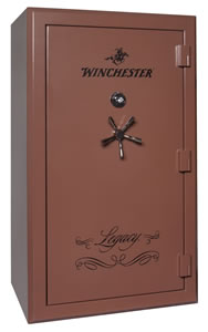 Winchester Legacy 53 Gun Safe L72425313M, Mech Lock, Saddle Brown Finish, Free Shipping w/Curbside Delivery, 7-10 Day Lead time