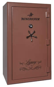 Winchester Legacy 53 Gun Safe L72425313E, Elec Lock, Saddle Brown Finish, Free Shipping w/Curbside Delivery, 7-10 Day Lead time