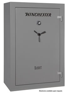 Winchester Bandit 31 Gun Safe B6040F13110M, Mech Lock, Gray Finish, Free Shipping w/Curbside Delivery, 7-10 Day Lead time