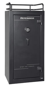 Winchester Defender 25 Gun Safe 6030259E, Elec Lock, Black Finish, Free Shipping w/Curbside Delivery, 7-10 Day Lead time