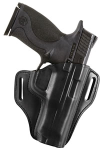 Bianchi 23958 Remedy Ruger LC9 RH Full Size Leather Blk