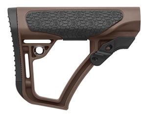 Daniel Defense 210910417901 Collapsible Rifle Glass Reinforced Polymer Brown