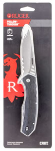 "Columbia River R1702C Follow-Through Folder 3.75"" 8C13MoV Drop Point Nylon Black"