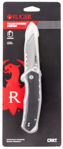 "Columbia River R1704C Follow Through Folder 3.25"" 8C13MoV Drop Point Nylon Blk"