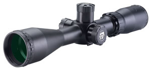 "BSA 17312X40AO Sweet 3-12x 40mm AO Obj 28-7 ft @ 100 yds FOV 1"" Tube Dia Black Duplex"