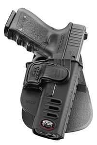 Fobus SWCH Rapid Release Paddle Holster  S&W M&P Plastic Black