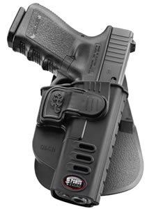 Fobus XDCH Rapid Release Paddle Holster  Springfield XD Plastic Black
