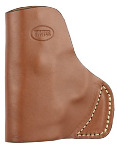 Hunter Company 25009  S&W Bodyguard 9 Pocket Holster Brown Leather