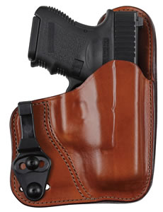 Bianchi 26084 Professsional Tuckable Ruger LC9 Tan 21