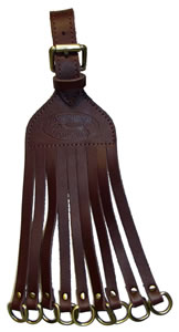 Eliminator Calls Duck Straps Brown Leather