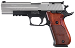 "Sig Sauer P220 Super Match Pistol 220BR5-45-TAS-SUP, Super, 45 ACP, 5"" Barrel, SAO, Custom Wood Grips, Stainless Slide/Hard Coat Anodized Frame Finish, 8 + 1 Rd"