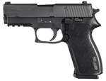 "Sig Sauer P220 Carry Pistol 220R3-45-BSS, Carry, 45 ACP, 3.9"" Barrel, DA/SA, Black Polymer Grips, Nitron Slide/Black Hard Anodized Frame Finish, 8 + 1 Rd"
