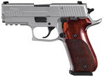"Sig Sauer P220 Carry Elite Stainless Pistol 220R3-45-SSE, Carry, 45 ACP, 3.9"" Barrel, DA/SA, Custom Rosewood Grips, Stainless Finish, 8 + 1 Rd"