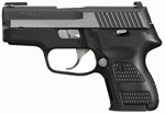 "Sig Sauer P224 Equinox Pistol 224-40-EQ, Carry, 40 S&W, 3.5"" Barrel, DA/SA, Hogue G10 Grips, Nitron Slide/Black Hard Anodized Frame Finish, 10 + 1 Rd"