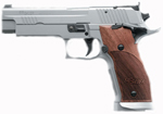 "Sig Sauer P226 X-Five Pistol 226X5-9-L1, Full Size, 9 mm, 5"" Barrel, SAO, Wood Nill Grips, Stainless Finish, 19 + 1 Rd"