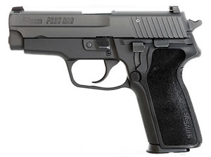 Sig Sauer P229 Generation 2 Pistol E299SAS2B, 9 MM, 3.9 in BBL, Sngl / Dbl, Polymer Grips, Siglite Sights, Blk Finish, 13 + 1 Rds