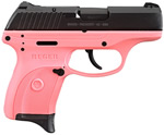 Ruger Model LC9-P Pink Pistol 3205, 9 mm, 3.12 in, Pink Grips, Blue Finish, 7 + 1 Rd