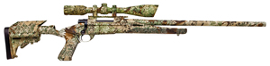 Howa Axiom Rifle HWK95102P+, 223 Remington, Bolt Action, 24 in, Camo Stock & Finish, 5 + 1 Rd, w/Nikko Scope/Base/Rings