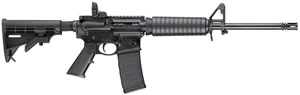 Smith & Wesson M&P 15 Sport Rifle 811036, 223 Rem/5.56 NATO, 16 in, Semi-Auto, 6 Pt Collapsible Stock, Black Finish, 30 + 1 Rd
