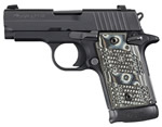 Sig Sauer Model P938 Extreme Pistol 9389XTMAMBI, 9 mm, 4.4 in, G10 Comp Grip, Black Finish, 6 + 1 Rd