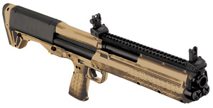 Kel-Tec KSG BullPup Shotgun KSGTAN, 12 Gauge, 18.5 in, 2.75 in Chmbr, Syn Stock, Cerakote Finish, 12+1 Rds, Only 1 in stock!