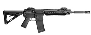Adcor B.E.A.R. Elite Rifle 2012000E, 223 Remington, 16 in, Semi-Auto, Magpul MOE Stock, Black Finish, 30+1 Rds, w/Sight