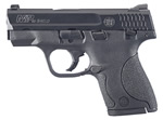 Smith & Wesson Model M&P 40 Shield Pistol 180020, 40 S&W, 3.1 in, Polymer Grip, Black Finish, 6+1 Rd/7+1 Rd