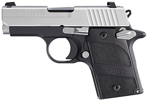 Sig Sauer Model P938 Pistol 9389AGAMBI, 9mm, 3 in, Aluminum Grip, Aluminum Finish, 6+1 Rd