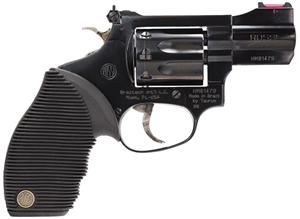 "Rossi R99102 R99 Revolver, 22 WMR, 2"" BBL, Single/Dbl Act, Black Ribber Grips, Fib Opt Front, Adj Rear Sights, Blued Finish, 8 Rds"